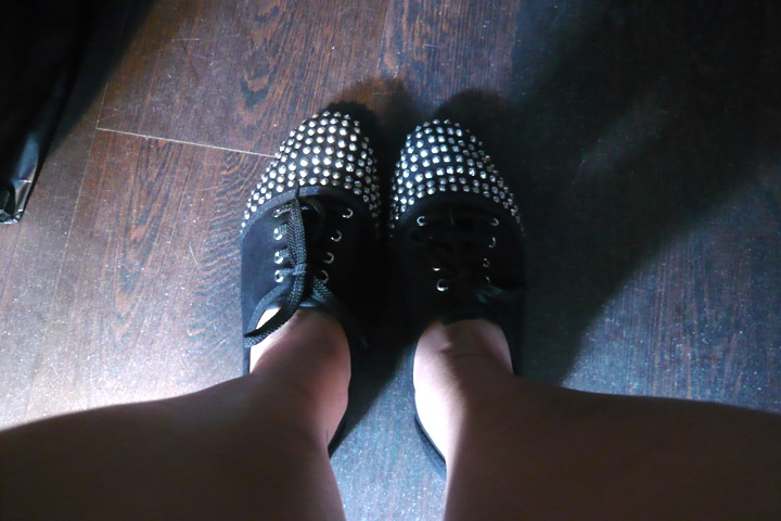 my new topshop flats that i bought for $40